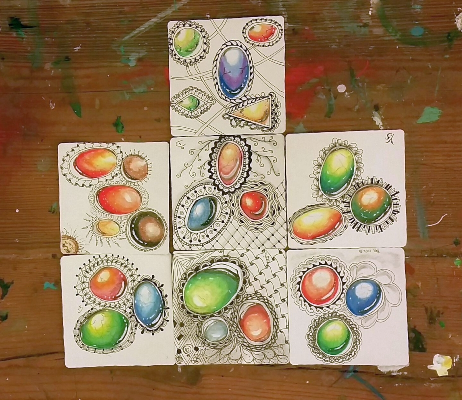 Zentangle – ZenGems
