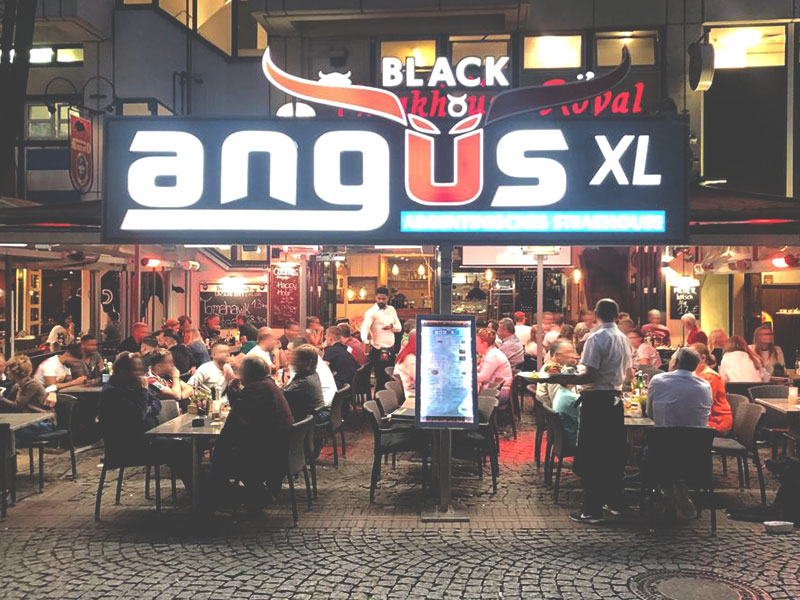 Black Angus Steakhouse XL Restaurant in Köln