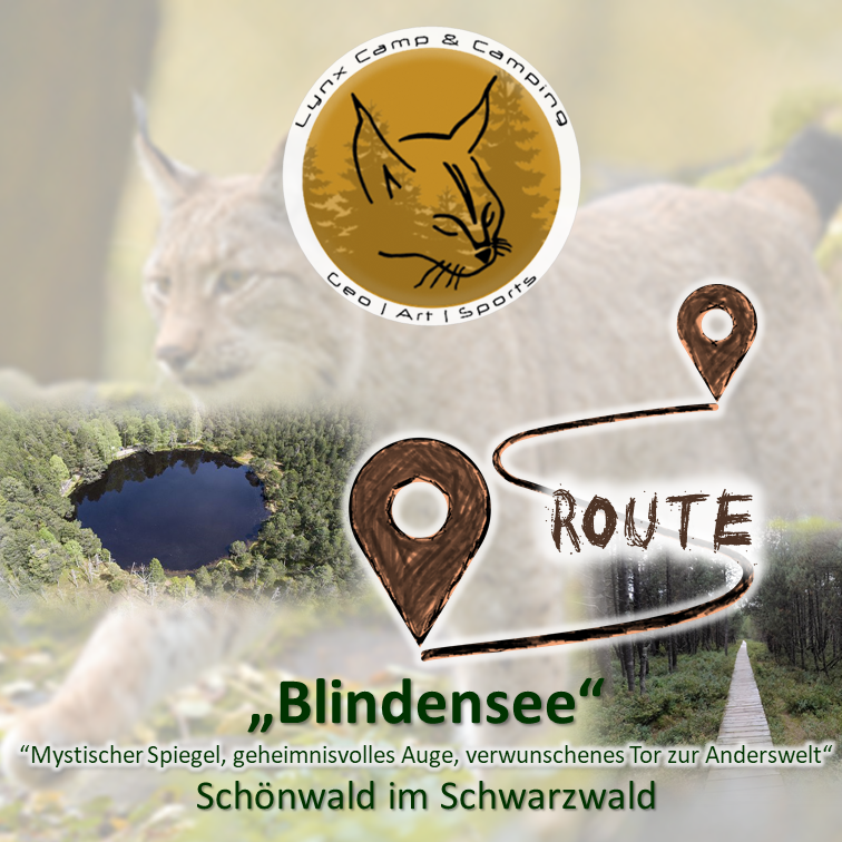 Fotostrecke Blindensee | Photo route Blind lake
