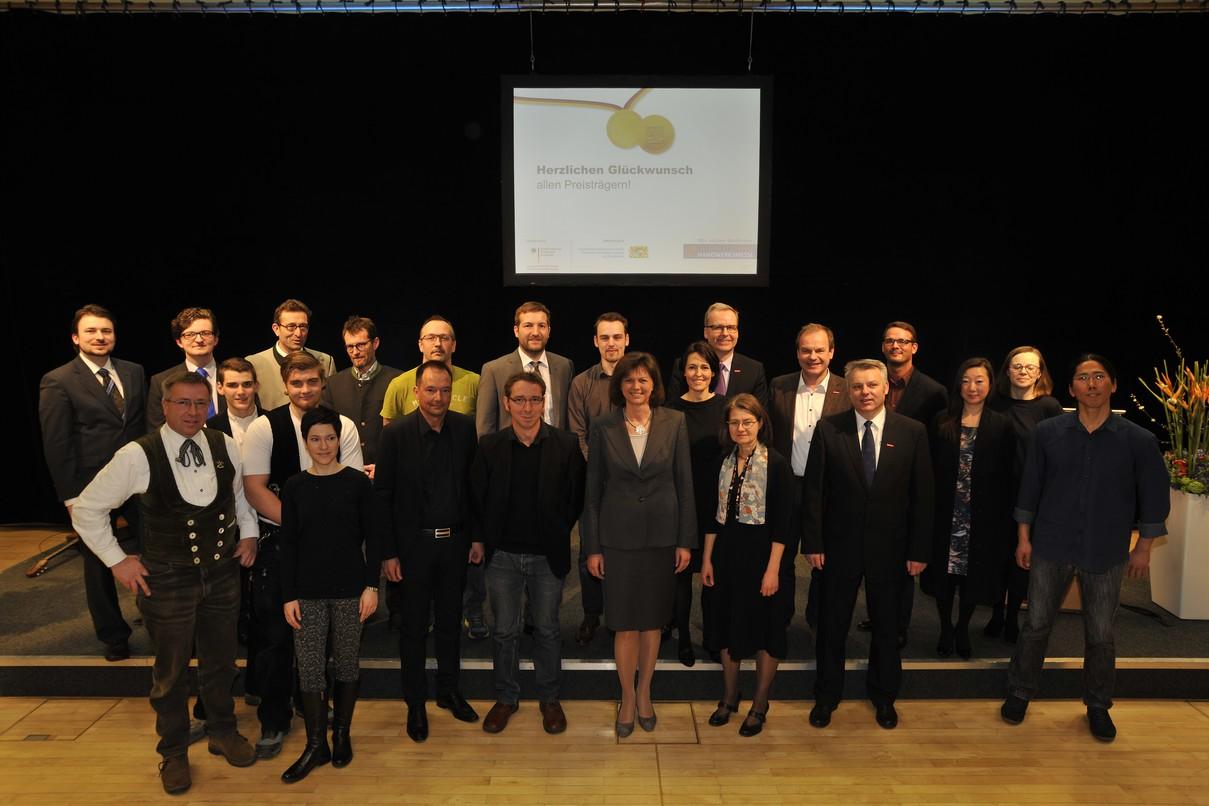 Preistrger Bayerischer Staatspreis 2016
